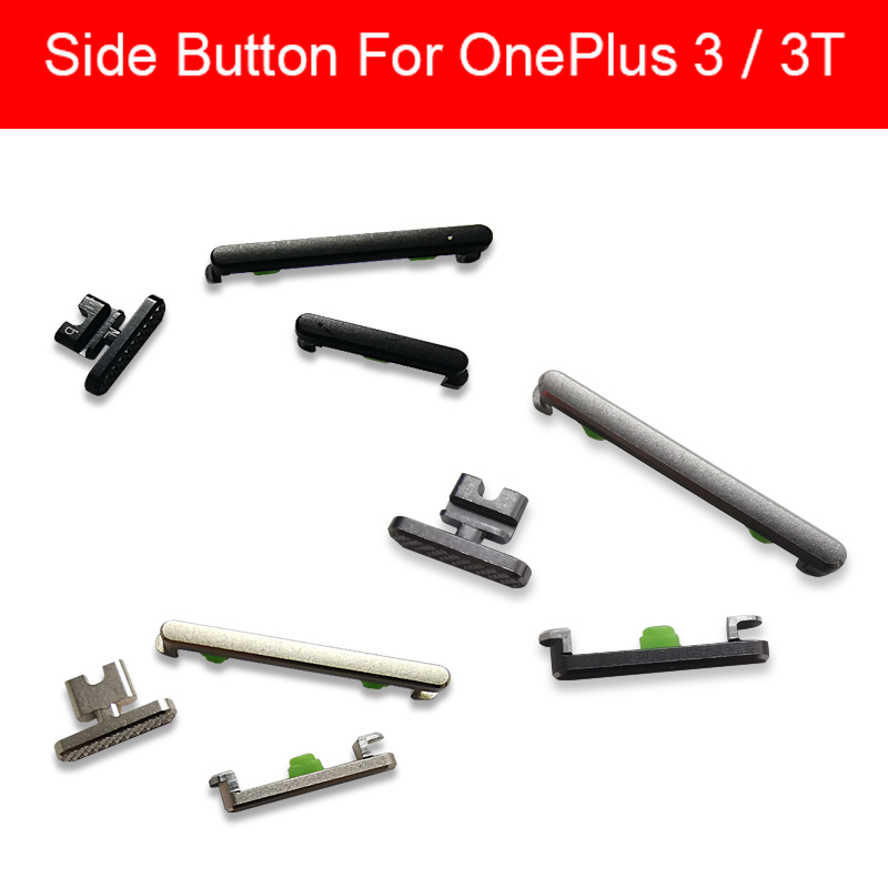 1 Set Mute +Volume +Power Button Side Key Flex Cable For Oneplus One Plus 3 3T Three A3000 A3003 A3010 Switch On Off Keypad