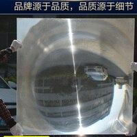 1 шт. 1100x1100 мм большой круглый PMMA Пластик Солнечный Френеля без конденсации фокусное расстояние объектива Длина для больших лупа, большой со
