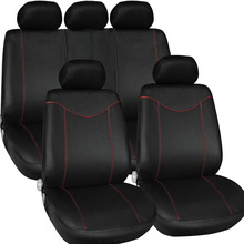 Universal Car Cases Auto Interior Accessories Styling 9PCS/set Car Seat Cover Cushion Supply Anti Mud Storage Bag Seat Support