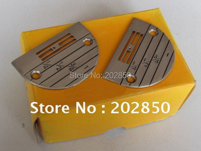 Free shipping single needle industrial sewing machine needle plate/accessory,Size from E14-E28 are all available,best quality