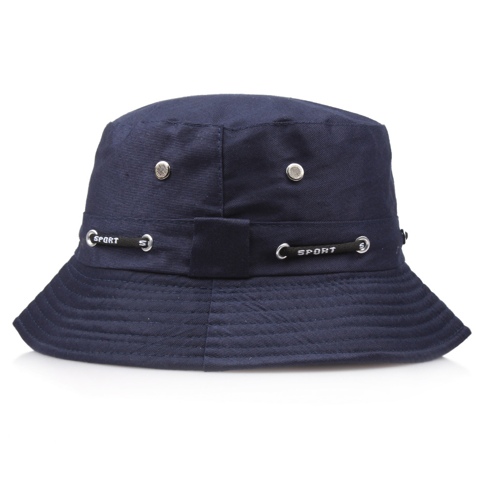 e2cc34bb1c869 Detail Feedback Questions about 2018 solid drawstring design Bucket Hat  flat cap Fisherman Hats for Men Women Summer Hip Hop outdoor hiking Panama  Hat on ...