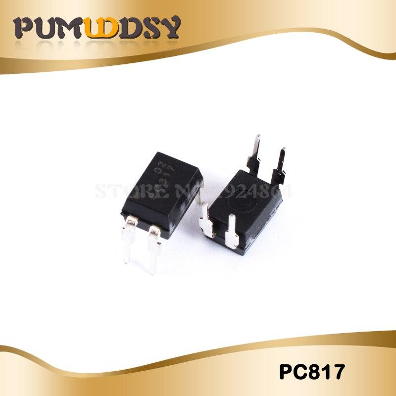 20pcs/lot Free Shippin 817C Optical Coupling Optocoupler 817 DIP4 PC817 PC817C New Original IC