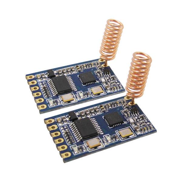 6 шт./лот 100 МВт 1 км Беспроводной приемопередатчик с интерфейсом TTL Встроенный 433 МГц РФ Передатчик-приемник, Модуль SV610