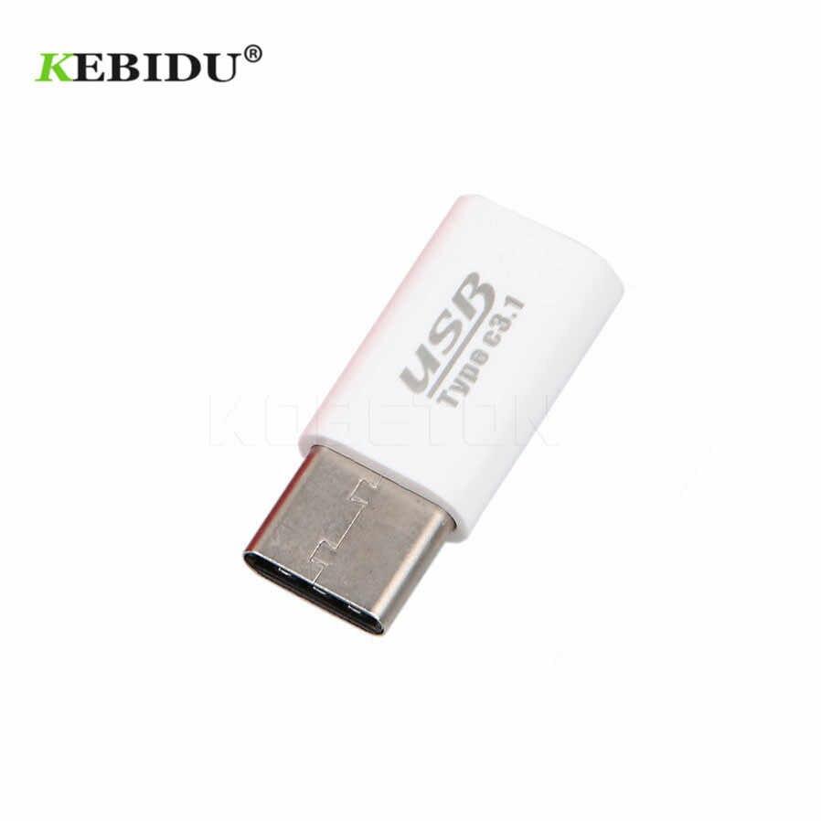 "Kebidu mini USB-C USB 3,1 macho a Micro USB hembra convertidor tipo C para Macbook 12 ""oneplus2 para tableta y teléfono móvil"
