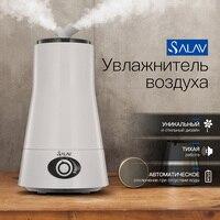 SALAV 2.5L Không Khí Ẩm Siêu Âm Aroma Diffuser các Vòi Đôi LED Night Light Thơm Mist Maker Tinh Dầu XY-19