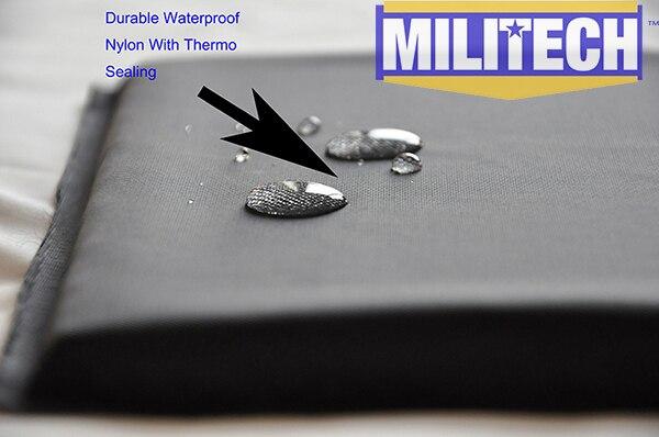 MILITECH 10x12 & 6x6 Inç Çiftleri Aramid Balistik Panel Kurşun - Güvenlik ve Koruma - Fotoğraf 6