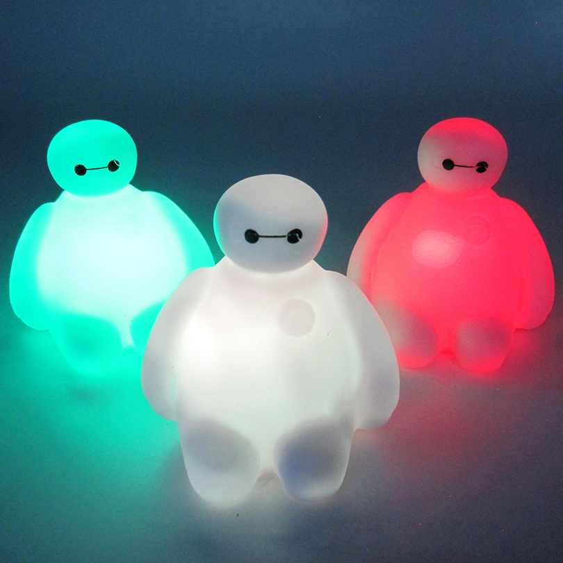Kids Baby Children Cartoon Toys Cute 7 Color Changing