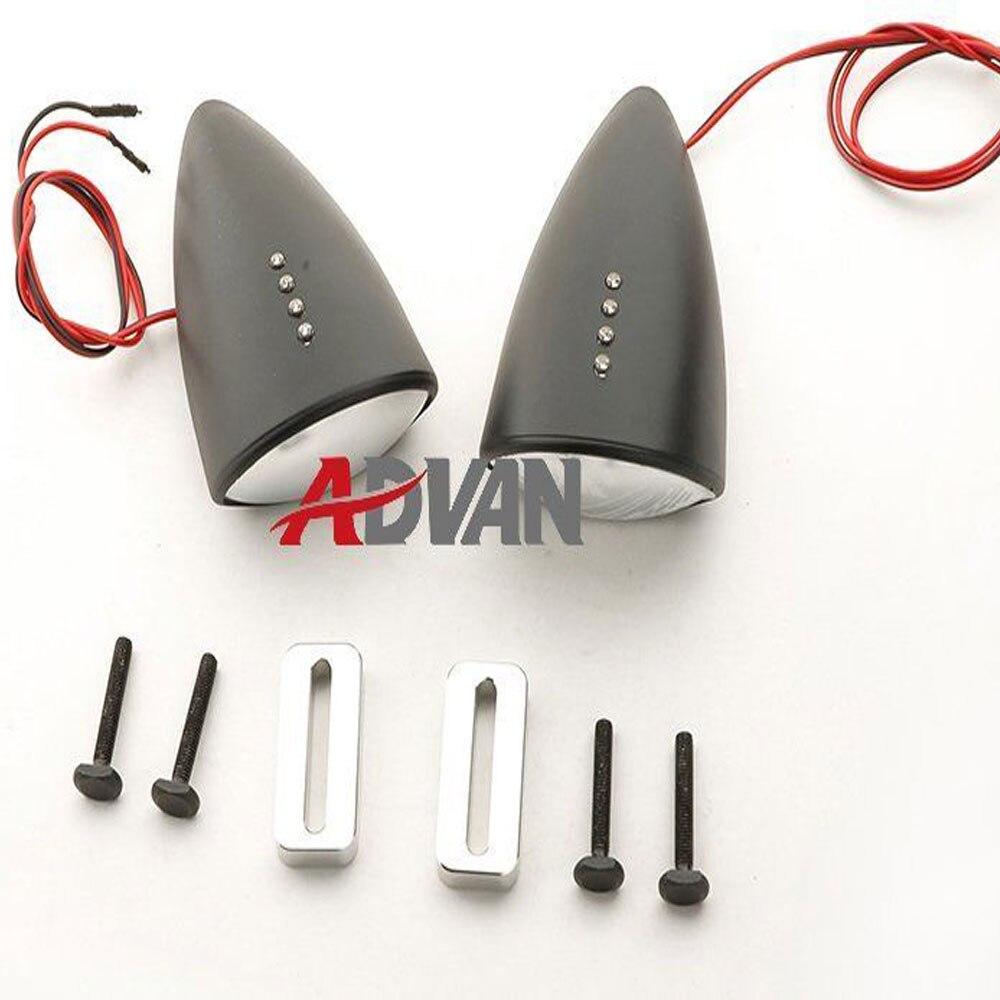все цены на Matt Black Custom LED Mirrors Turn Signals For 98 - 03 Suzuki TL1000R 1998-2003 онлайн