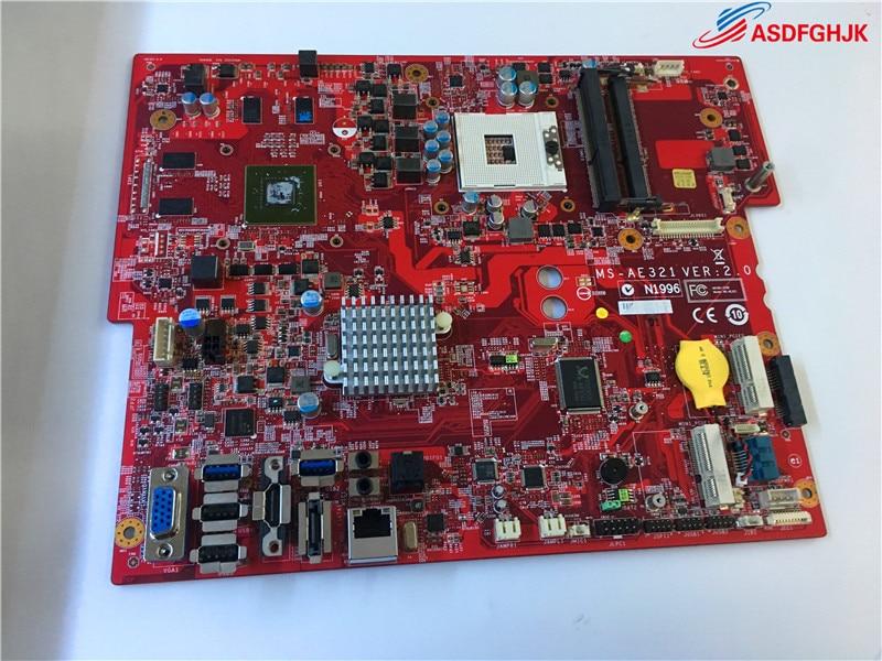 FOR MSI AE321 Motherboard MS-AE321 VER:2.0 Mainboard 100% TESED OK