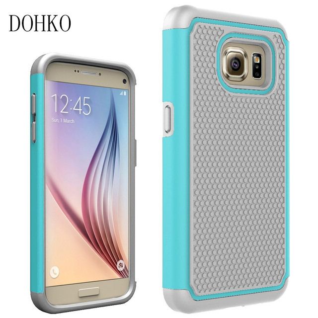 DOHKO For Samsung Galaxy S7 Shockproof Protect Case Hybrid Hard Rubber Impact Skin Armor Phone Cases