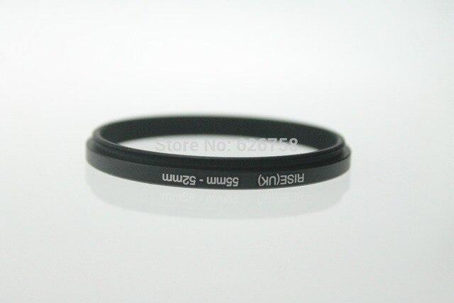 RISE (UK) 55 52MM 55 MM 52 MM 55 do 52 krok w dół pierścień adaptera filtra