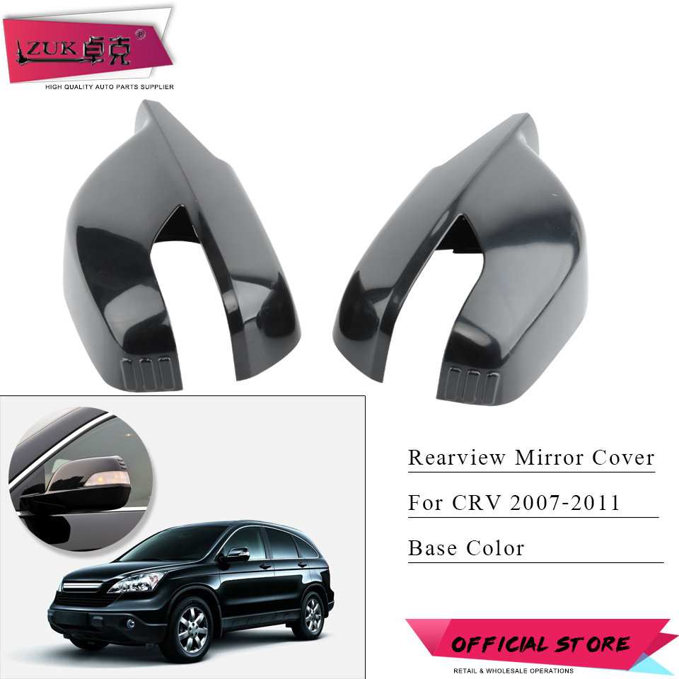 Left side Flat Wing door mirror glass for Honda CRV 2007-2018 heated