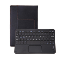 Universal Wireless Tablet keyboard with Cover Bluetooth Keyboard Case with Touch Pad for Android Windows 8