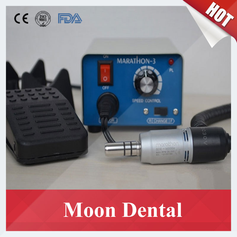 Saeyang Marathon-3 Micromotor Polisher 35K RPM Marathon3/M33Es for Skin & Denture Polishing High Quality high quality 2016 new 2016 new control unit box for electric micromotor marathon polishing polisher motor machine n7 35k rpm