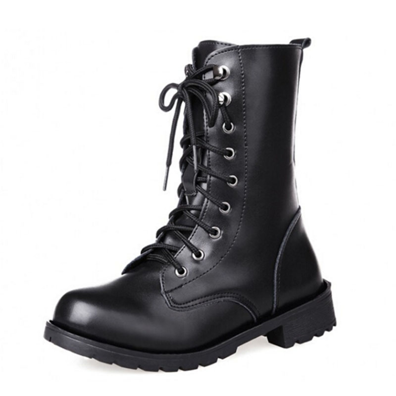 Black Combat Boots Women Fashion Reviews - Online Shopping Black ...
