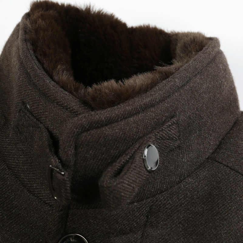KOLMAKOV мужские шерстяные пальто деловые повседневные зимние куртки высококачественные мужские большеразмерные шерстяные пальто верблюжье пальто плюс размер M-4XL