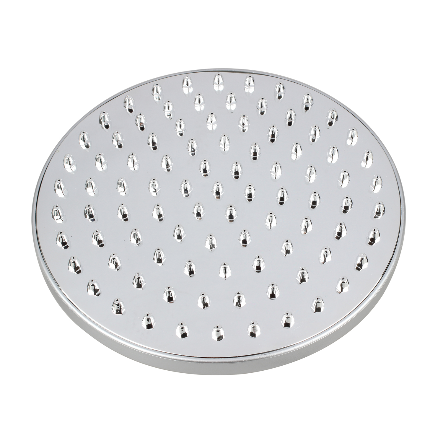 Promotion! UK Send 8 Inch Bathroom Room Chrome Large Round Mixer Fix Rain Shower Head 200mm