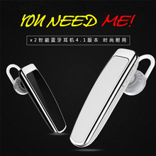 Wireless Bluetooth Earphone High Capacity Battery Headphone Bluetooth Headset Hands-free Earbud in Car for Phone Xb