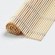 1pcs Sushi Tool Bamboo Rolling Mat DIY Onigiri Rice Roller Chicken Roll Hand Maker Kitchen Japanese Sushi Maker Tools sushi maker onigiri roll ball cutter roller a1474