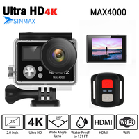 Comfast Ultra HD 4K Wifi Action Camera 1080p HD 60fps Waterproof Helmet Sports DV Cam Go
