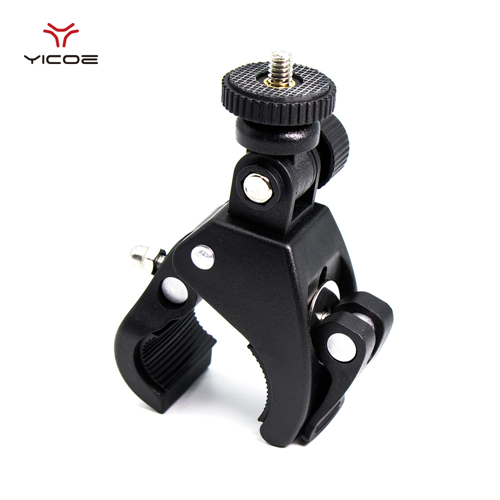 For Gopro Hero7 6 5 4 3+ Quick Clip Bicycle Bike Mount Tripod Adapter For Xiaomi Yi 4k SJCAM Action Camera Accessories