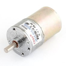 UXCELL 12V DC 300RPM Magnetic Electric Gear Box Motor Replacement 6mm Diameter Shaft, 2 Terminals Connector Hot Sale цены