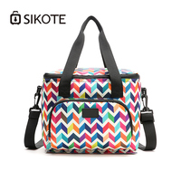SIKOTE 10L 600D Oxford Cloth Ice Pack Heat Preservation Lunch Milk Keep Cold Warm Insulation Storage box Portable Cooler Bags