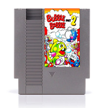 Bubble Bobble Part 2 Top Quality 72 Pins 8 bit Game Cartridge(China)