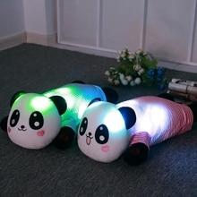 60cm Creative Luminous Plush bear Doll Glowing Pillow LED Light Animal Toys Colorful Kids Childrens Gift Panda Polar