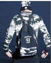 Fashion pattern Bape storage bag clothes bag sport bag fashion brand Bape bring bag