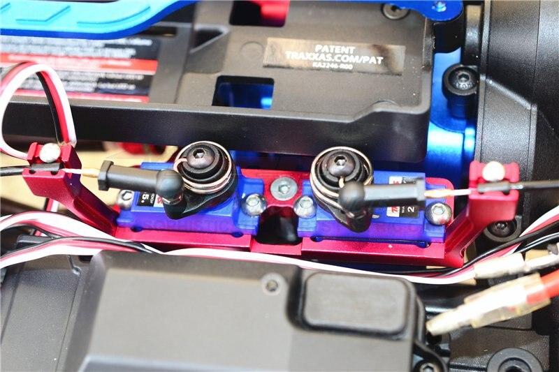 TRX-6 TRX-4 GPM Alum Center Gear Box Diff Lock Servo Mount 5Pcs Set Green