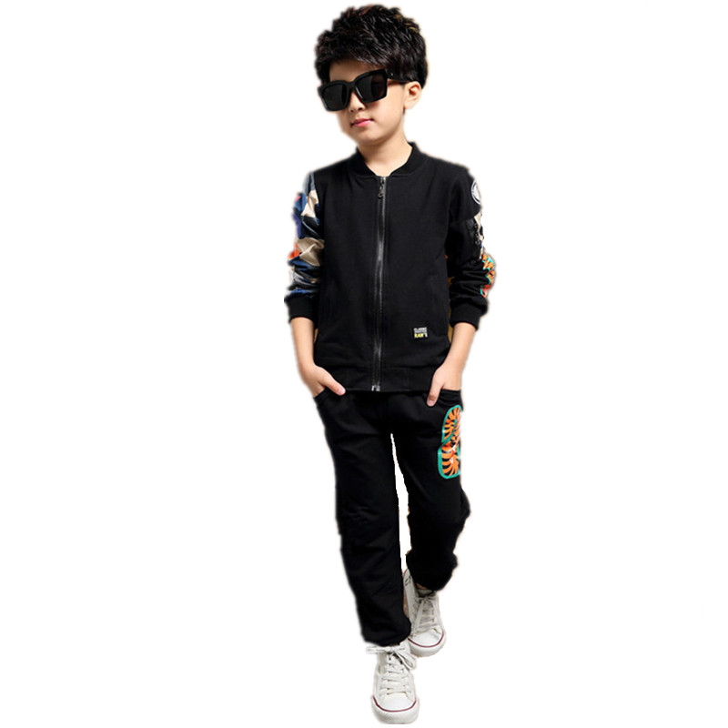 Fashion Autumn Winter Boy Coat Pants Set Baby Children Clothing Suit Infantil Toddler Casual Kids Clothes Next Enfant Tracksuit eaboutique new winter boys clothes sports suit fashion letter print cotton baby boy clothing set kids tracksuit