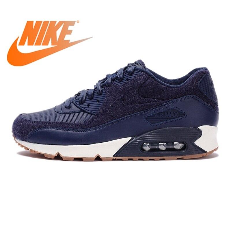 Officiel D'origine NIKE AIR MAX 90 PREMIUM Hommes de chaussures de course Sneakers Respirant Sport En Plein AIR Jogging Confortable Durable