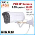 Sistema de segurança Home CÂMERA 2.0MP Full HD night vision IR À Prova D' Água ao ar livre 1080 p ip onvif motion detectar plug-play poe ip camer câmera