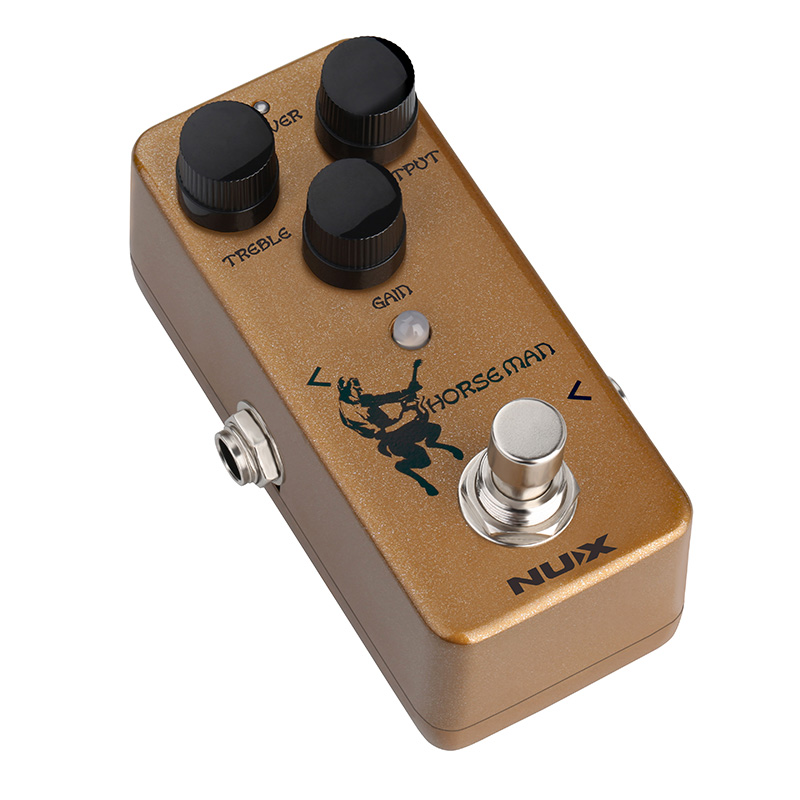 Image 2 - NUX Horseman Overdrive Pedal for Electric Guitar Effect True Buffer Bypass Natural Distortion Effects Musical Instruments Pedals-in Guitar Parts & Accessories from Sports & Entertainment