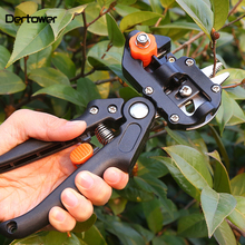 Grafting Machine Garden Tools With 2 Blades Fruit Tree Grafting Tools Secateurs Scissors Gardening Tool Cutting Pruner