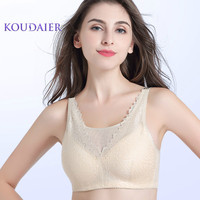 Women Light Artificial Breast Bra Suit Set Female Wire Free Silicone Prosthesis Bras After Breast Cancer Surgery Underwear H4607