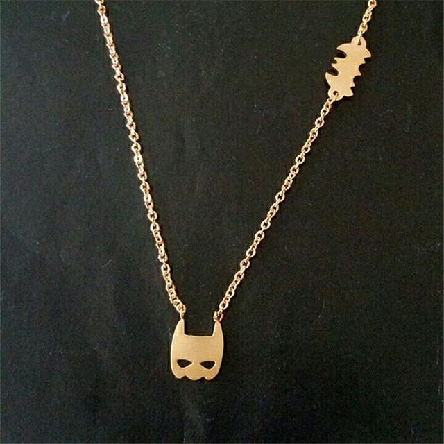 Batman Necklace for Women