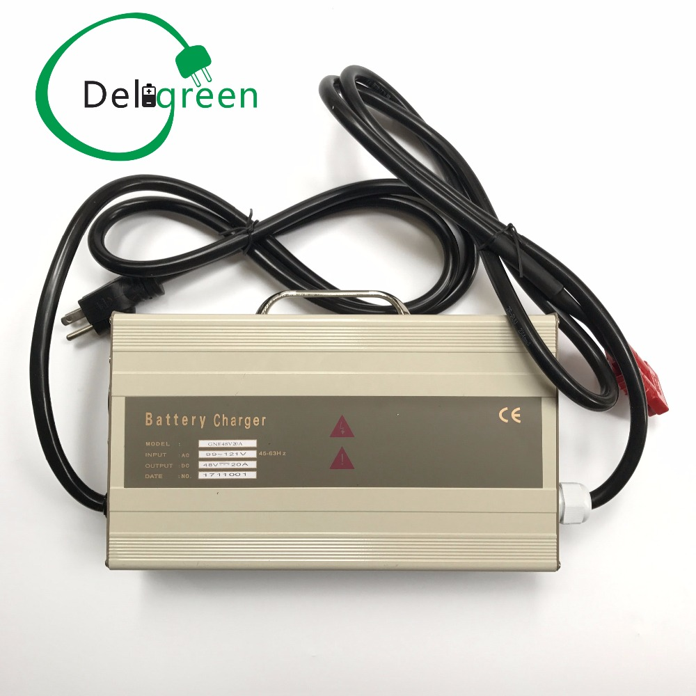 60V 5A Deligreen Charger for 16S Lithium ion 18650 DIY Pack