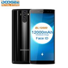 Купить DOOGEE BL12000 6,0 «18:9 4 г смартфон MTK6750T Octa Core Andorid 7,0 4 ГБ Оперативная память 32 ГБ Встроенная память Quad камеры 16MP + 13MP 16MP + 8MP 12000 мАч