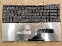 Nueva árabe ar teclado para asus k53s k53sv k72f n53s n53sv n53 n50 g73 k52f teclado del ordenador portátil