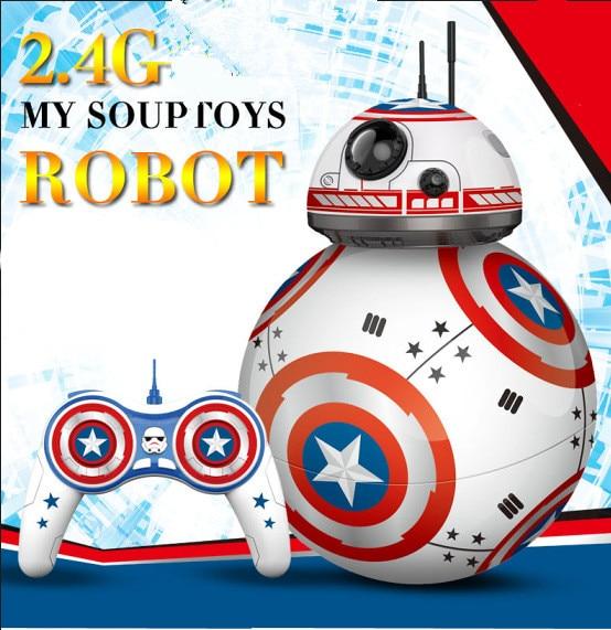 RC Robots Գնդակներ խաղալիքների BB-8 - Խաղային արձանիկներ - Լուսանկար 6