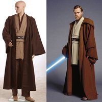 2017 New Star Wars David Kabel Costume Jedi Knight Cosplay Costume Anakin Costume Obi Wan Kenobi