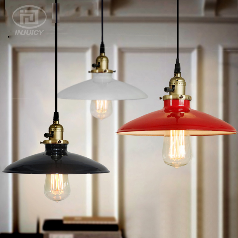 Loft Vintage Pendant Lamp Iron Retro Industrial Edison E27 Pendant Lights For Restaurant Bedroom Home Decor Droplight Lighting loft retro globe k9 crystal wrought iron edison pendant lights lamp vintage metal bar pendant lighting droplight