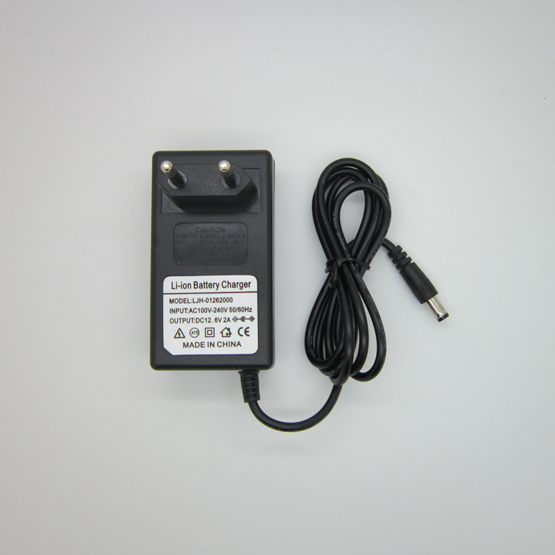 Haute quality1PC 100-240 V 12.6 V 2A polymère au lithium chargeur de batterie, 12.6 V2A puissance adaptateur chargeur double IC 12.6V2A, livraison gratuite