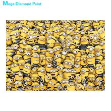 Cartoon characters Moge Diamond Painting Full Round New DIY Sticking Drill Cross Embroidery 5D children simple Home Decoration