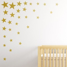 73 Pcs/set Multisize Gold Star Wall Sticker Fashion Home Decor Wall Decals  Kids Baby Room DIY Home Decoration Wall Decals S 5 Part 79