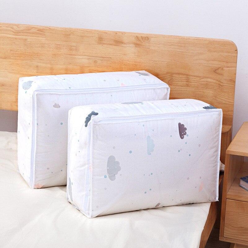 Моющаяся стеганая сумка для хранения, домашняя одежда, стеганая подушка, одеяло, сумка для хранения, дорожная сумка-Органайзер для багажа, влагостойкая сумка для хранения