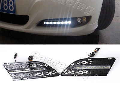 DRL LED Daytime Running Light Lamp Fit For BMW 3Series E90 Convertible Sedan 4Door 09-11 high quality light high power led daytime running lights for bmw e90 lci 3 series sedan 15w 2009 2012 freeshipping