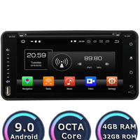 Roadlover Android 9.0 Car DVD Player For Toyota Auris Hilux Fortuner Land Cruiser 100 Prius Verso Avensis Stereo GPS Navigation